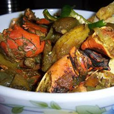 Spicy Crab Curry - Bangla Style