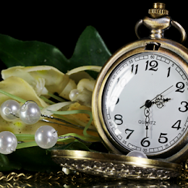 by Dipali S - Artistic Objects Jewelry ( pocket, still life, watch, pearls, artistic, jewelry )