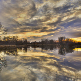Symmetry  by Hytham Elbohy - Landscapes Cloud Formations ( color, colors, landscape, portrait, object, filter forge )