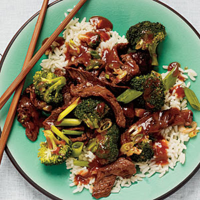 Beef-Broccoli Stir-Fry