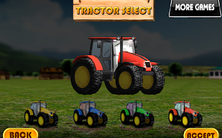 Screenshot of Tractor parking 3D Farm Driver