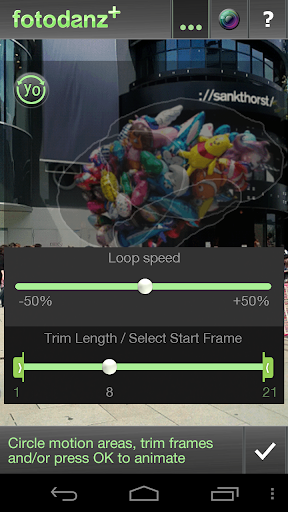 Fotodanz+ - screenshot