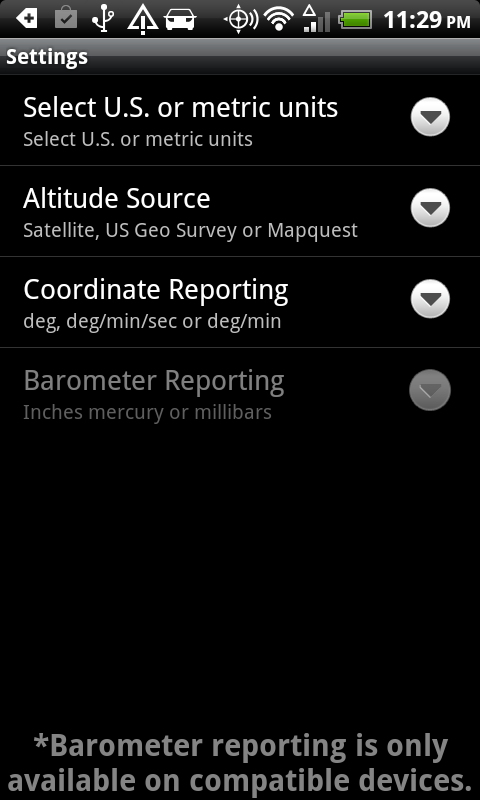 DS Altimeter Screenshot 7
