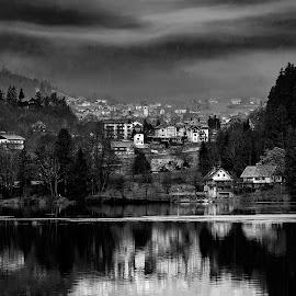 by Milan Jovanovic - City,  Street & Park  Vistas
