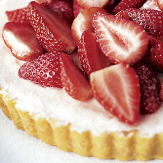 Strawberry And Crème Fraîche Tart