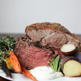 Mediterranean Spiced Roasted Leg of Lamb with