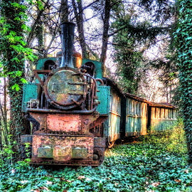 Old litlle train.. by Željko Salai - Transportation Trains