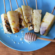 Grilled Pineapple with Coconut-Condensed Milk-Butter Sauce