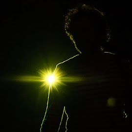 by Howie George - People Musicians & Entertainers ( concert, silhouette, performer, light )