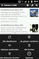 Screenshot of Berufsgeocacher´s Podcast