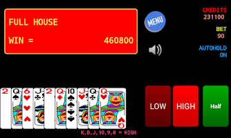 Screenshot of Jolly Card Poker