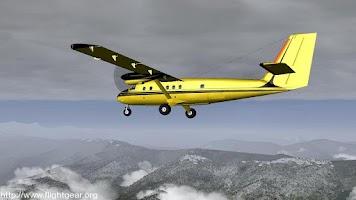 Screenshot of Flightgear and Fsx Videos