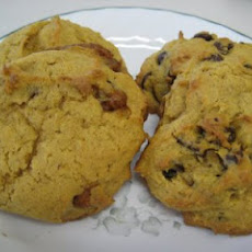 Pumpkin Chocolate Chip (or Cinnamon Chip) Cookies