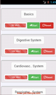 Physiology Quiz : Medico Apps - screenshot