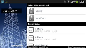 Screenshot of DWGSee -- DWG Viewer