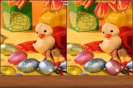 Easter Spot the Difference - screenshot