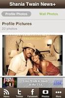 Screenshot of Shania Twain