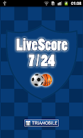 Screenshot of LiveScore 7/24
