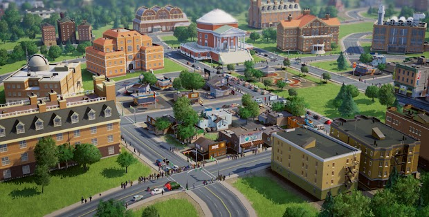 Amusement park DLC arrives for SimCity