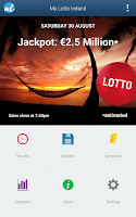 Screenshot of Irish Lottery (Lotto Ireland)