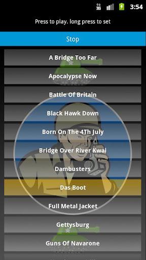 Military Movie Theme Ringtones