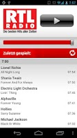 Screenshot of RTL RADIO