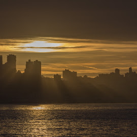 Sunset Over San Francisco by Janet Marsh - Landscapes Sunsets & Sunrises ( san francisco, sfsunset,  )