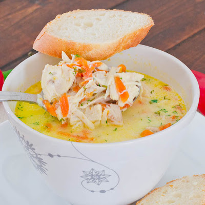 Chicken Soup A La Grec