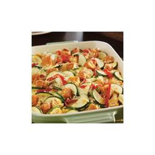 Zucchini, Chicken and Rice Casserole
