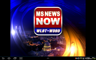 Screenshot of MSNewsNow