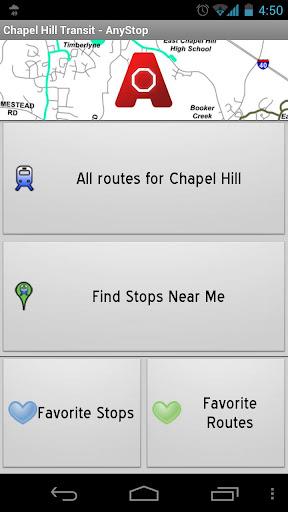 Chapel Hill Transit: AnyStop