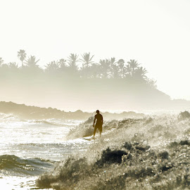 Alone by Ken Sponsler - Sports & Fitness Surfing