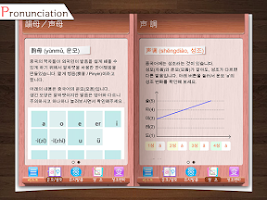 Screenshot of Chinese learning Korean