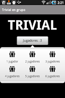 Screenshot of Trivial en grupo