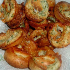 Tiny Roquefort Popovers
