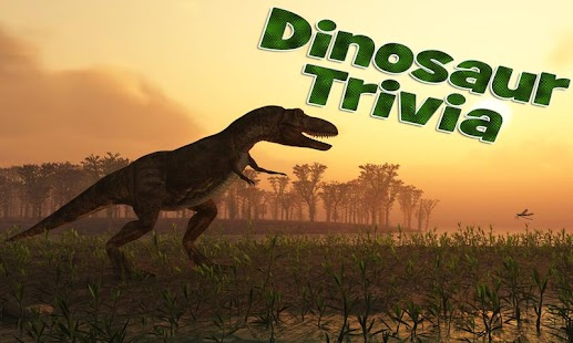 Dinosaur Trivia - screenshot