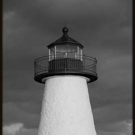 Lighthouse.... by Susanne Carlton - Buildings & Architecture Public & Historical