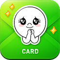 LINE Greeting Card icon
