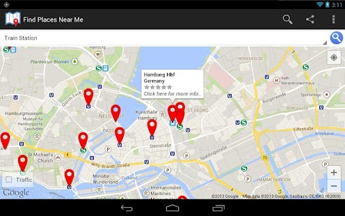 app find places near me apk for windows phone android
