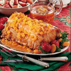 Pork Roast with Fruit Sauce