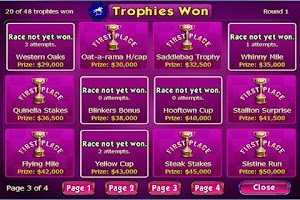 Screenshot of Gallop for Gold Slots