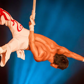 Circus by Jeanette Birkholm - Sports & Fitness Other Sports ( strong, acrobat, artist, circus, man )