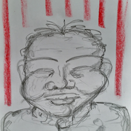 MToldi 14 graphite/crayon by Marcello Toldi - Drawing All Drawing