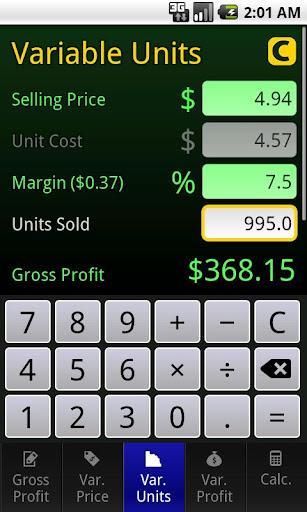 Max Profit Calculator