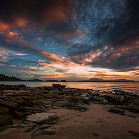 Darkness Falls by NC Wong - Landscapes Sunsets & Sunrises
