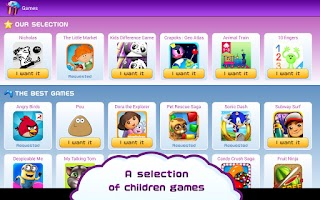 Screenshot of App Kids: Parental control