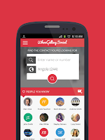 Screenshot of WhozCallingSocial