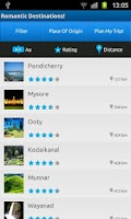 Screenshot of Romantic Destinations – India!