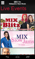 Screenshot of MIX fm