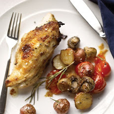 Rosemary-Lemon Chicken with Vegetables
